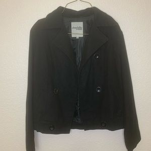 Gorgeous Thick Black Coat